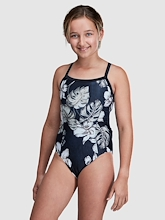 Ohana Pikake Print Training One Piece Youth