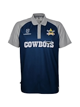 Outerstuff NRL Cowboys Performance Polo Mens