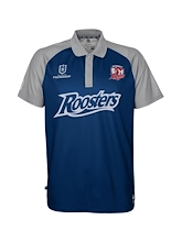 Outerstuff NRL Rooster Performance Polo Mens