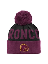 Outerstuff NRL Broncos Beanie Adult