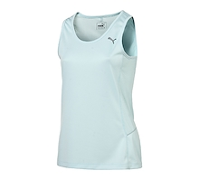 PUMA Womens PR Running Tank Clear Water