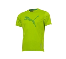 PUMA Mens PR Graphic 1up Short Sleeve Tee