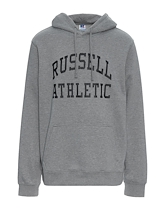 Russell Athletic Core Arch Hoodie Oxford Grey Mens