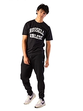 Russell Athletic Core Cuff Trackpants 4 Black Mens