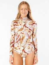 Rip Curl Leilani Good Long Sleeve One Piece Womens