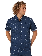 Rip Curl Summer Palm Short Sleeve Shirt Mens