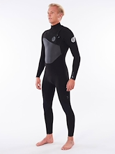Rip Curl Flashbomb 3/2 Chest Zip Wetsuit Mens