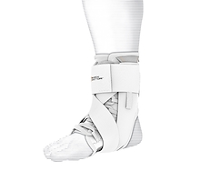 Shock Doctor Ultra Wrap Lace Ankle White