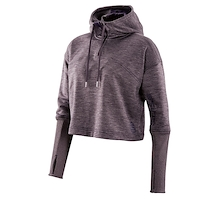 Skins Plus Wireless Tech Fleece Crop Hoodie Womens