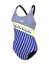 Speedo High Leg Leaderback One Piece Womens