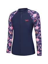 Speedo Endurance 10 Zip Up Sun Top Womens