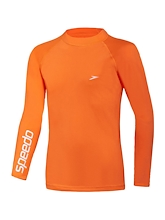 Speedo Safety Long Sleeve Sun Top Boys