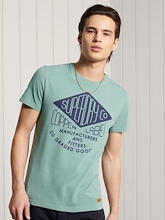 Superdry Sportstyle Workwear Graphic Tee