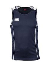Canterbury Men's Alpha Singlet Navy