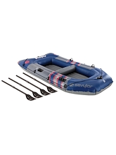 Coleman Sevylor 4 Person Colossus Boat with Oars