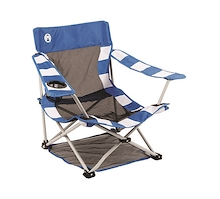 Coleman Deluxe Mesh Quad Beach Chair