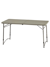 Coleman 4 Foot Fold In Half Table