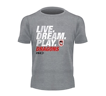 St George Dragons Live Dream Play Tee