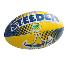 Steeden North QLD Cowboys Sponge 6 Inch Ball