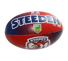 Steeden Sydney City Roosters Sponge 6 Inch Ball