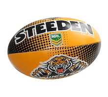 Steeden Wests Tigers Sponge 6 Inch Ball