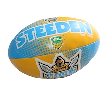 Steeden Gold Coast Titans Sponge 6 Inch Ball