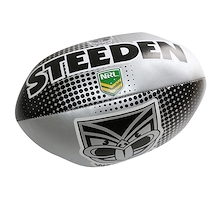 Steeden NZ Warriors Sponge 6 Inch Ball