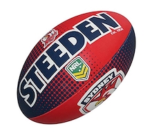 Steeden Sydney City Roosters Supporter Size 5 Ball