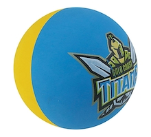 Steeden Gold Coast Titans High Bounce Ball 12 Pack