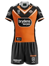Wests Tigers Replica Toddler Home Set 2021