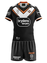 Wests Tigers Replica Toddler Away Playing Kit 2021