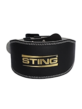 Sting Eco Leather Lifting Belt 6 Inch