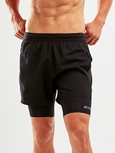 2XU XVENT 5in 2 in 1 Comp Short Mens