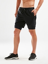 2XU XCTRL 7 inches Short with Compression Mens