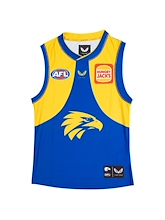 West Coast Eagles Replica Home Guernsey 2021 Kids