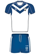 Canterbury Bulldogs Infant Home Kit Set 2021
