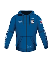 Canterbury Bulldogs Youth Full Zip Hoodie 2021