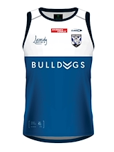 Canterbury Bulldogs Youth Training Singlet 2021