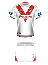 St George Dragons Infant Home Kit Set 2021