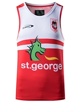 St George Dragons Youth Training Singlet 2021