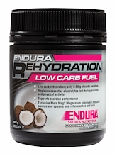 Endura Rehydration Low Carb Fuel Coconut 122g