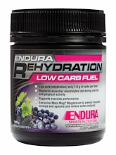 Endura Rehydration Low Carb Fuel Grape Berry 128g