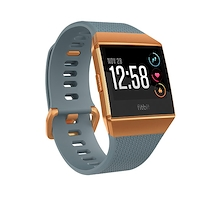 Fitbit Ionic Blue and Burnt Orange