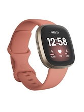 Fitbit Versa 3 Pink Clay Soft Gold