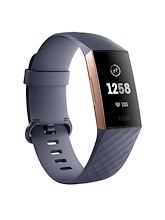 Fitbit Charge 3 Blue Grey Rose Gold
