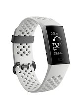 Fitbit Charge 3 Frost White Sport Graphite Special Edition