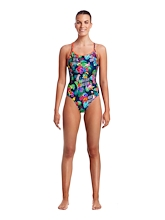 Funkita Ladies Diamond Back One Piece Tropic Tag