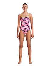 Funkita Ladies Single Strap One Piece Pop Palms
