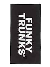 Funky Trunks Towel Still Black