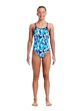 Funkita Girls Diamond Back One Piece Crack Attack
